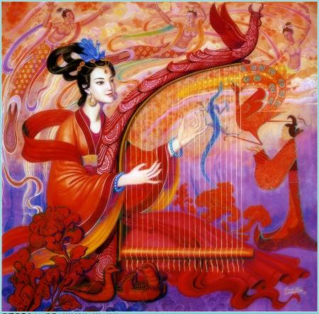 китая картинки древнего музыка
