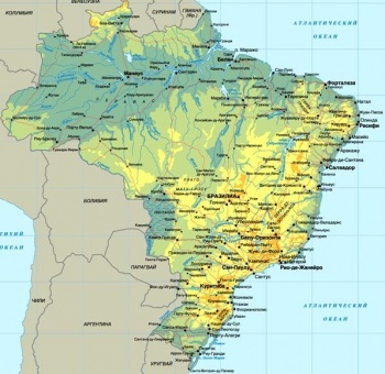 Демография Бразилии УссуриВики Карта Бразилия jpg