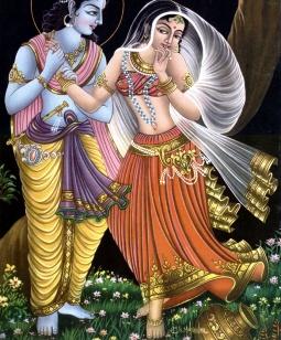 Искусство танца в Индии УссуриВики Кришна Радха jpg